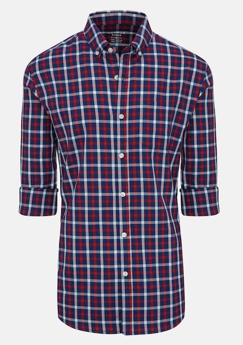 Red Benny Slim Casual Shirt