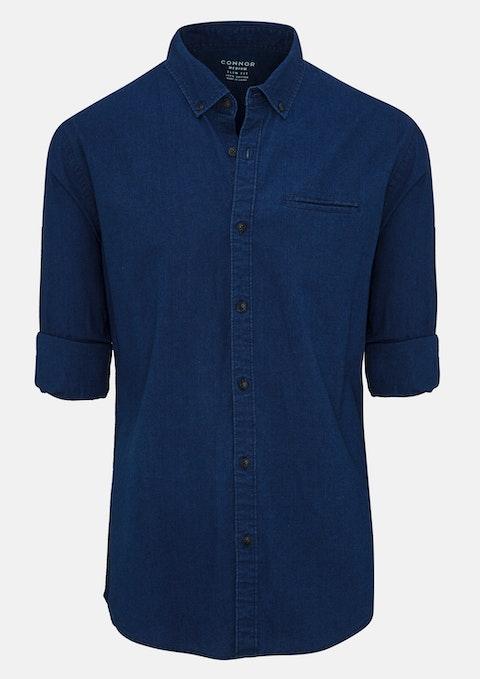 Indigo Trax Slim Casual Shirt