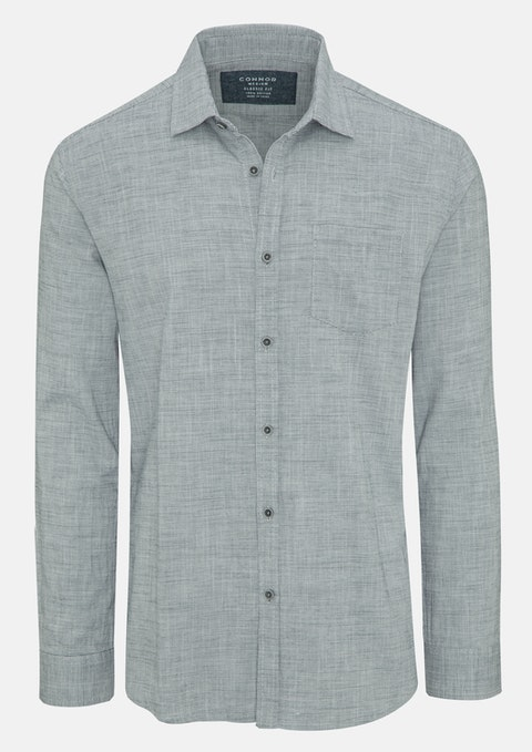 Grey Fabian Casual Shirt