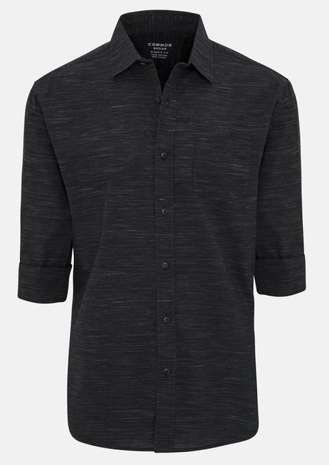 Charcoal Haring Casual Shirt