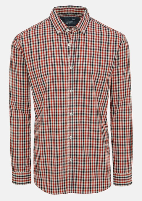 Red Leslie Casual Shirt
