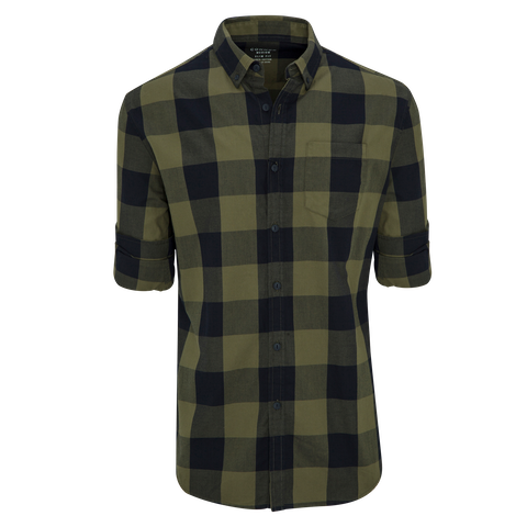 Military Nick Slim Casual Shirt by Connor