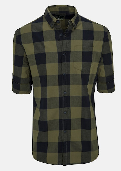 Military Nick Slim Casual Shirt
