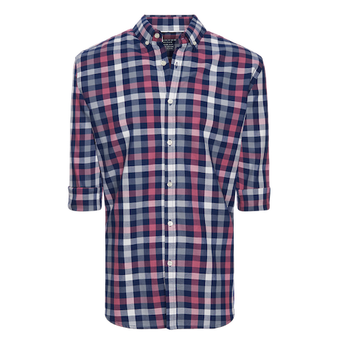 Pink Otis Slim Casual Shirt by Connor
