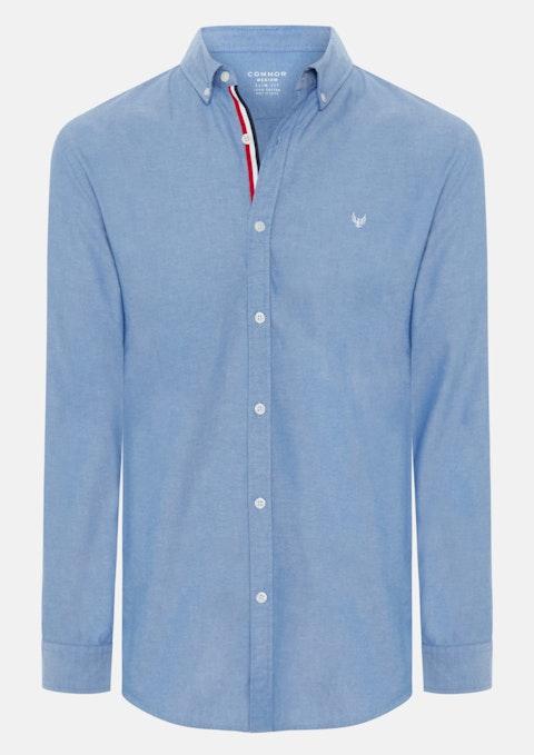 Blue Poker Slim Casual Shirt