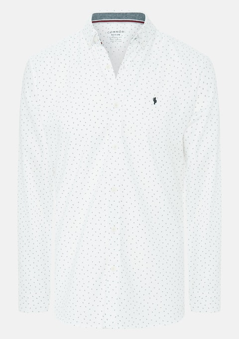White Southport Casual Shirt