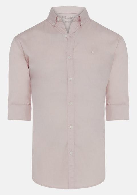 Dusty Pink Brockman Slim Casual Shirt