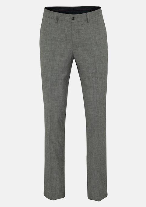 Grey Finsbury Slim Dress Pant