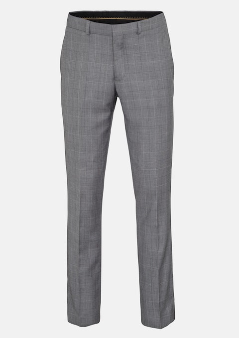 Grey Rhodes Slim Dress Pant