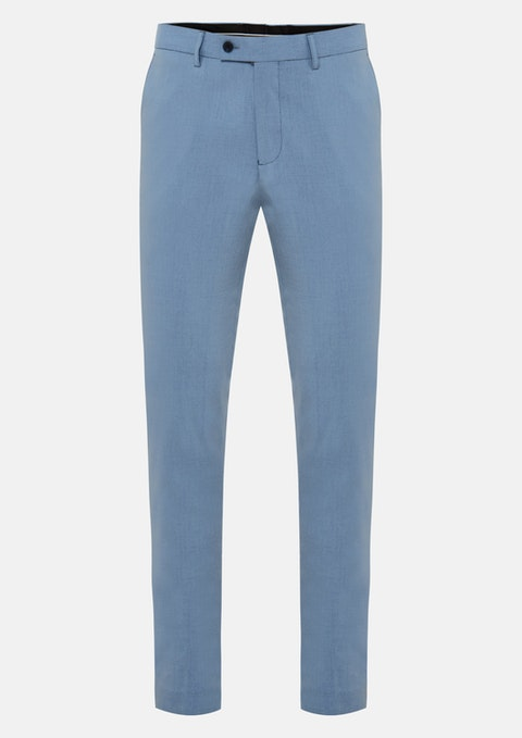 Blue Aston Skinny Dress Pant