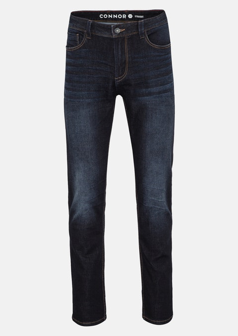 Dark Blue Russ Straight Jean