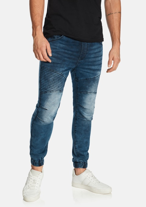 Steel Lynn Denim Jogger