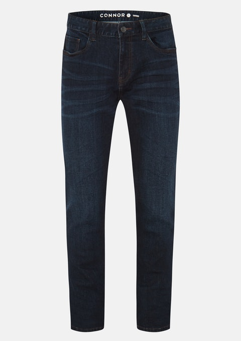Dark Blue Torwood Tapered Jean