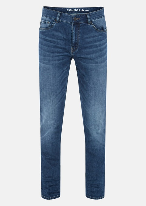 Blue Clifton Straight Jean