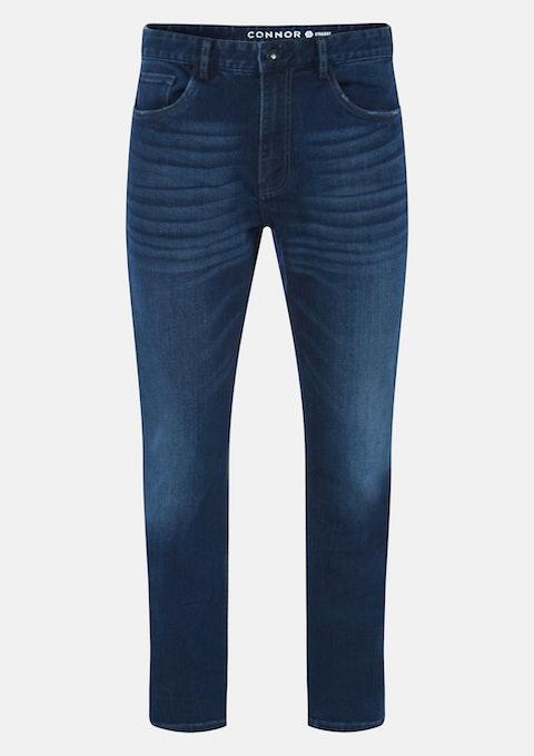 Dark Blue Belmore Straight Jean