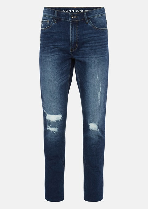 Blue Tio Tapered Jean