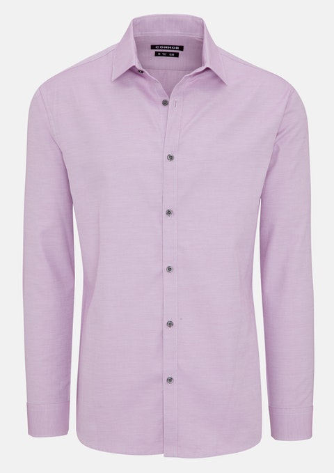 Pink Draxler Slim Dress Shirt