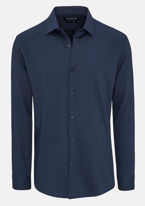 Midnight Samson Slim Dress Shirt
