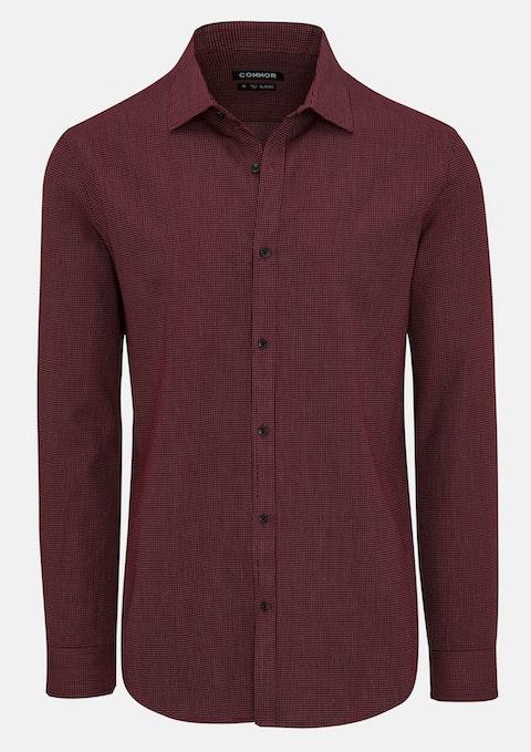 Wine Hardy Dress Shirt