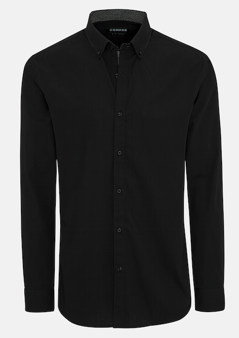 Black Isaac Dress Shirt