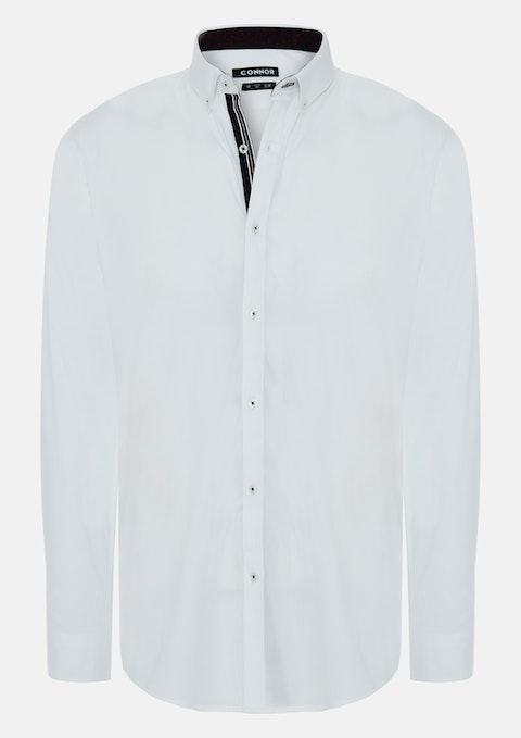 White Craven Slim Dress Shirt