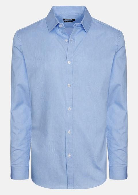 Blue Goodman Slim Dress Shirt