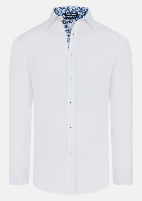 White Mali Dress Shirt