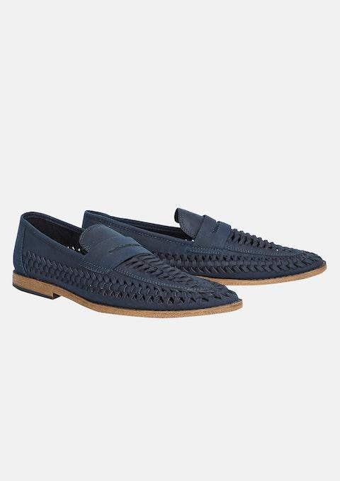 Blue Chancery Shoe