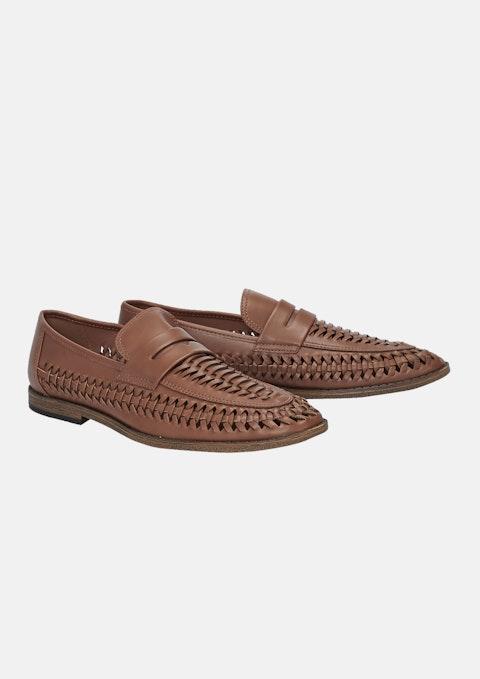 Tan Chancery Shoe