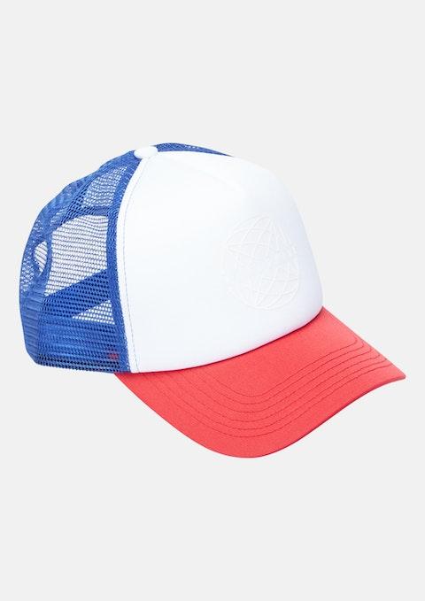 Blue Milan Cap