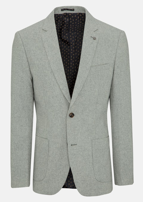 Light Grey Stanford Slim Blazer