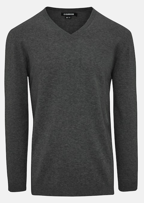 Charcoal Frederick Knit