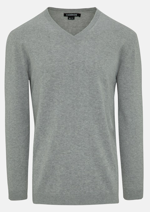 Light Grey Frederick Knit