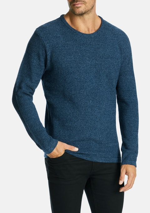 Blue Stirling Knit