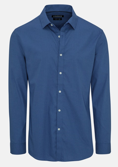 Blue Johnny Slim Shirt
