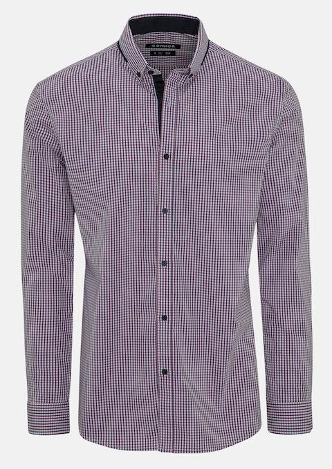 Blue Onslow Slim Stretch Shirt