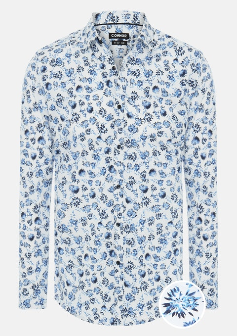 Blue Mansion Slim Stretch Shirt
