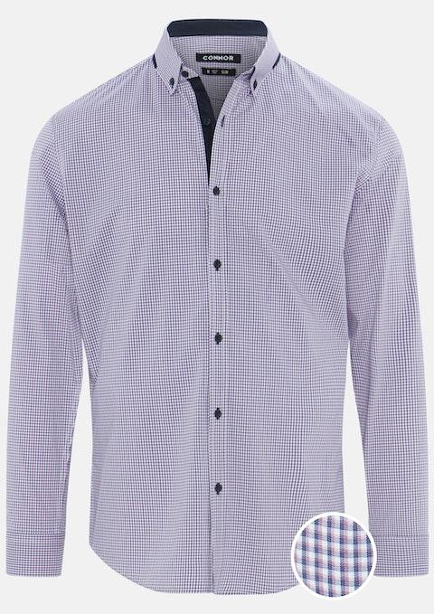 Pink Greenbank Slim Stretch Shirt