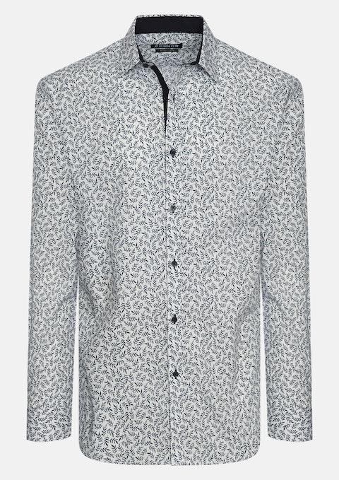 White Sorrento Slim Shirt