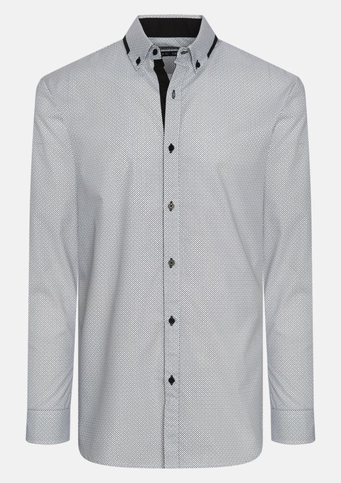 White Tony Slim Shirt
