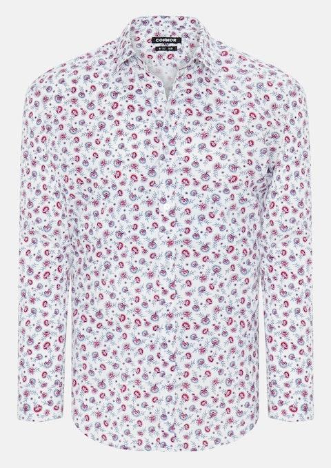 White Morella Slim Shirt