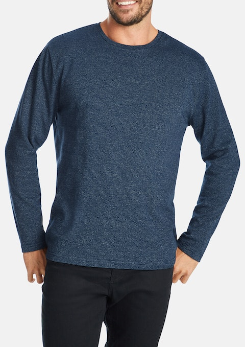 Blue Ealing Long Top