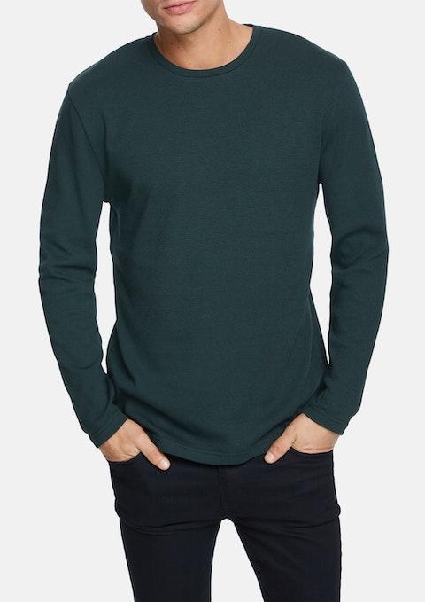 Green Ealing Long Top