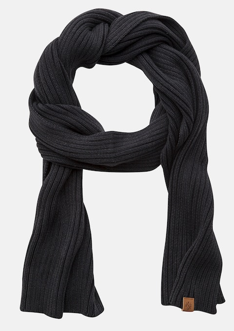 Charcoal Ferry Scarf