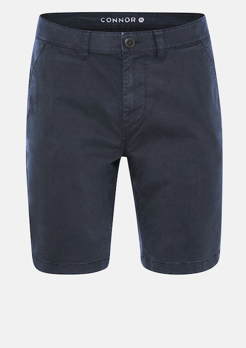 Navy Lochlan Stretch Chino Short