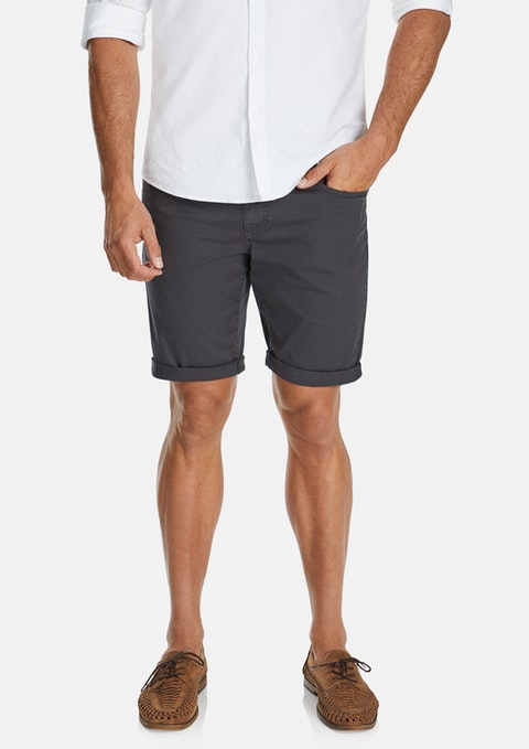 Charcoal Chilton Stretch  Short