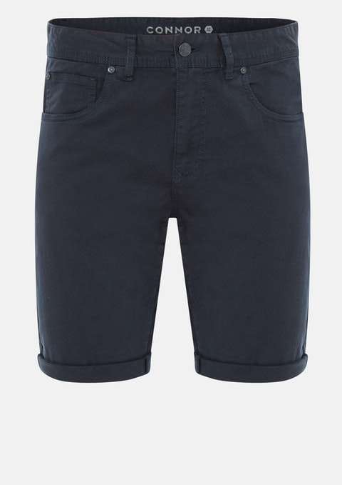 Navy Chilton Stretch  Short
