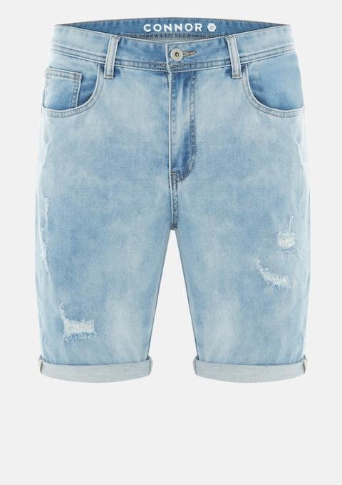 Light Blue Decker Denim Short