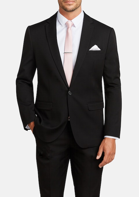 Black Diamond Stretch Classic Suit Jacket