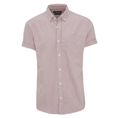 Dusty Pink Chapson Slim Shirt by Connor